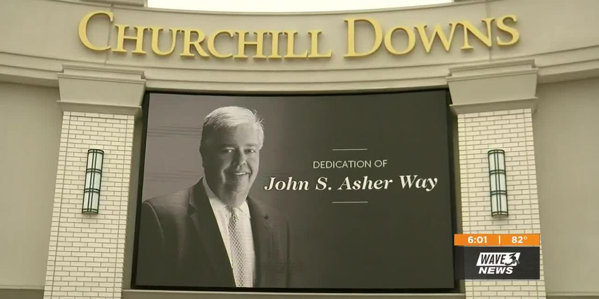 Derby fans to take a walk on John S. Asher Way