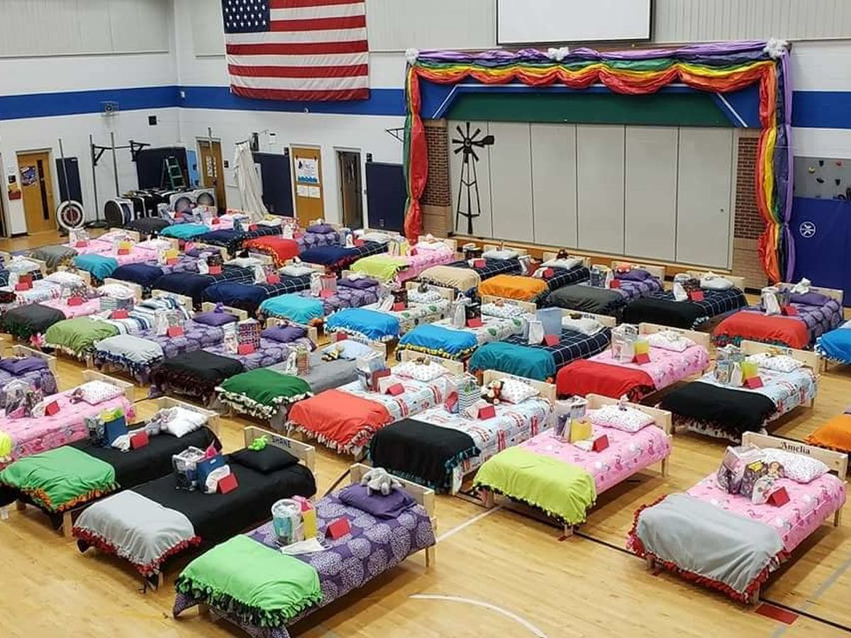'Sleep Tight' project builds 50 beds for 50 kids in need