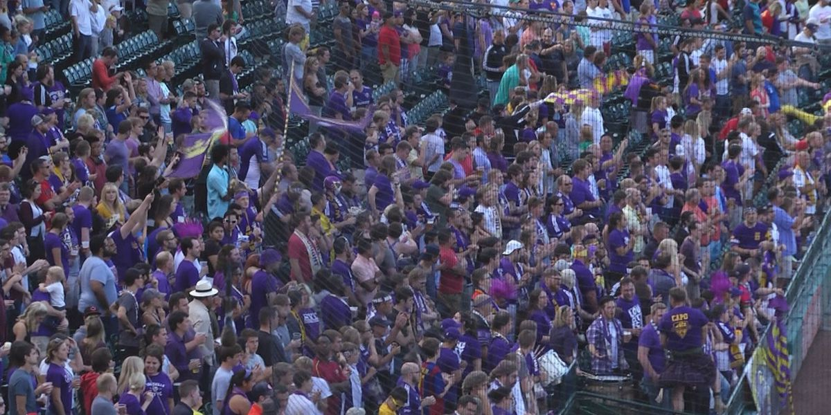 Louisville City FC beats Orlando City SC 3-1 in front of record crowd