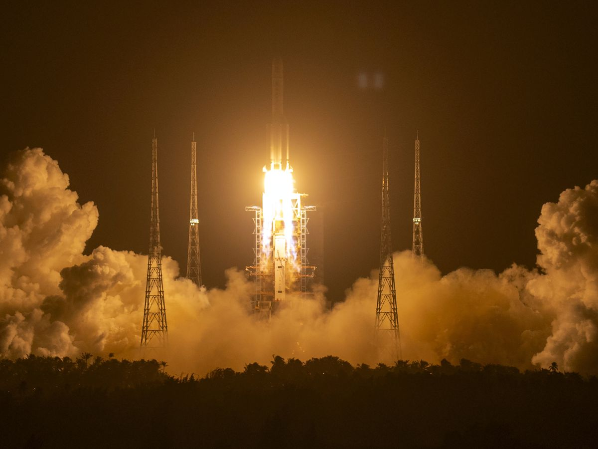 China spacecraft lands on moon to bring rocks back to Earth