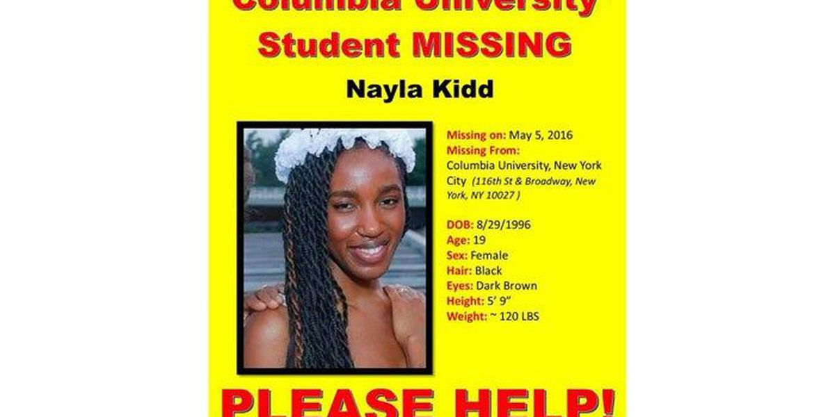 Report: NYC college student from Louisville missing for 10 days