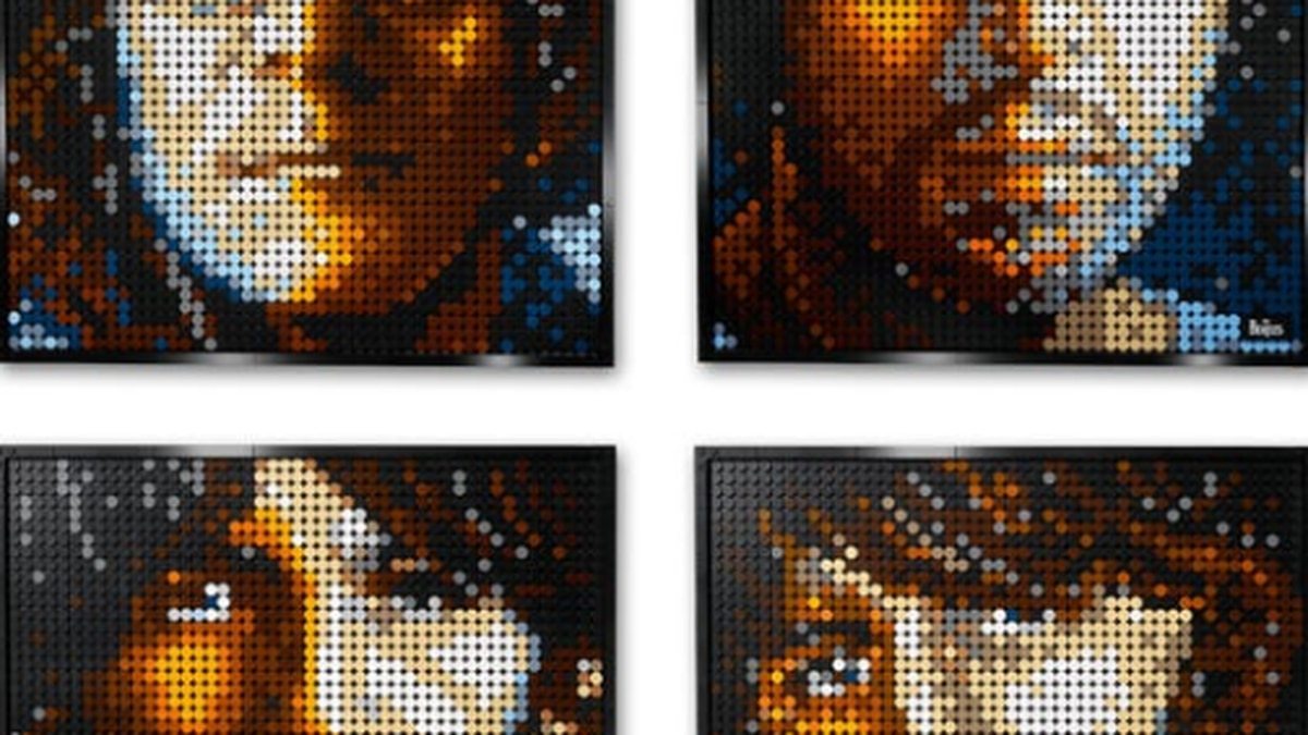 LEGO launches new kits to make pop culture portraits