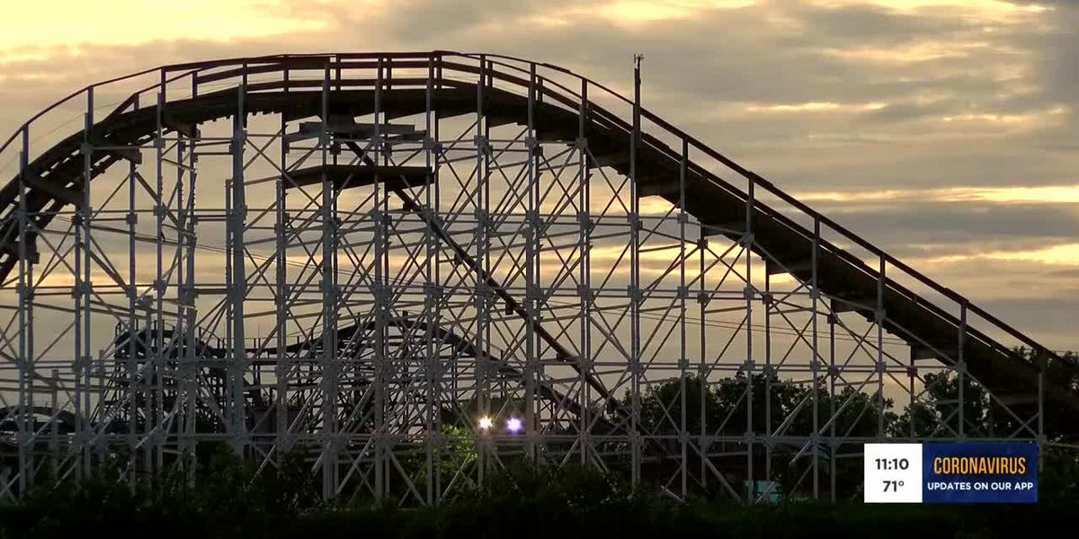 Kentucky Kingdom awaits reopening date from state