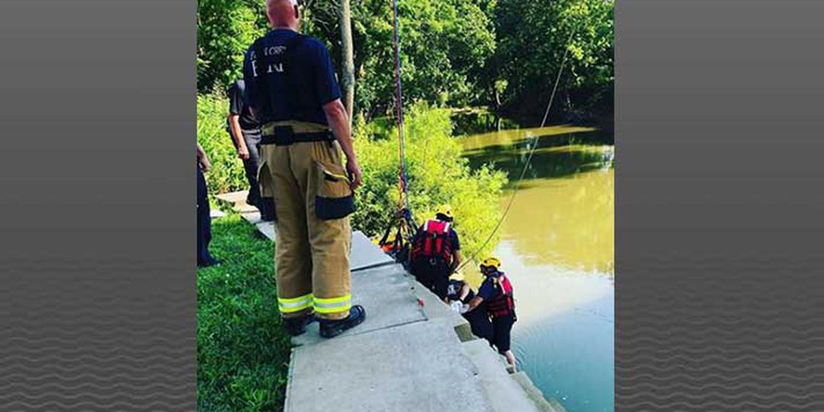 Fisherman dies after fall into Parklands creek