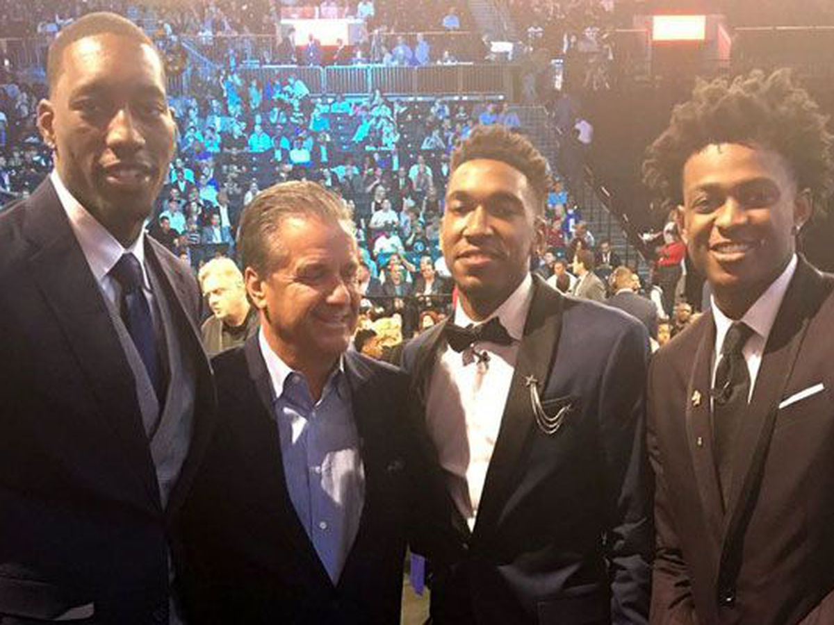 LOTTERY PICKS: UK gets 3, UofL's Mitchell picked 13th