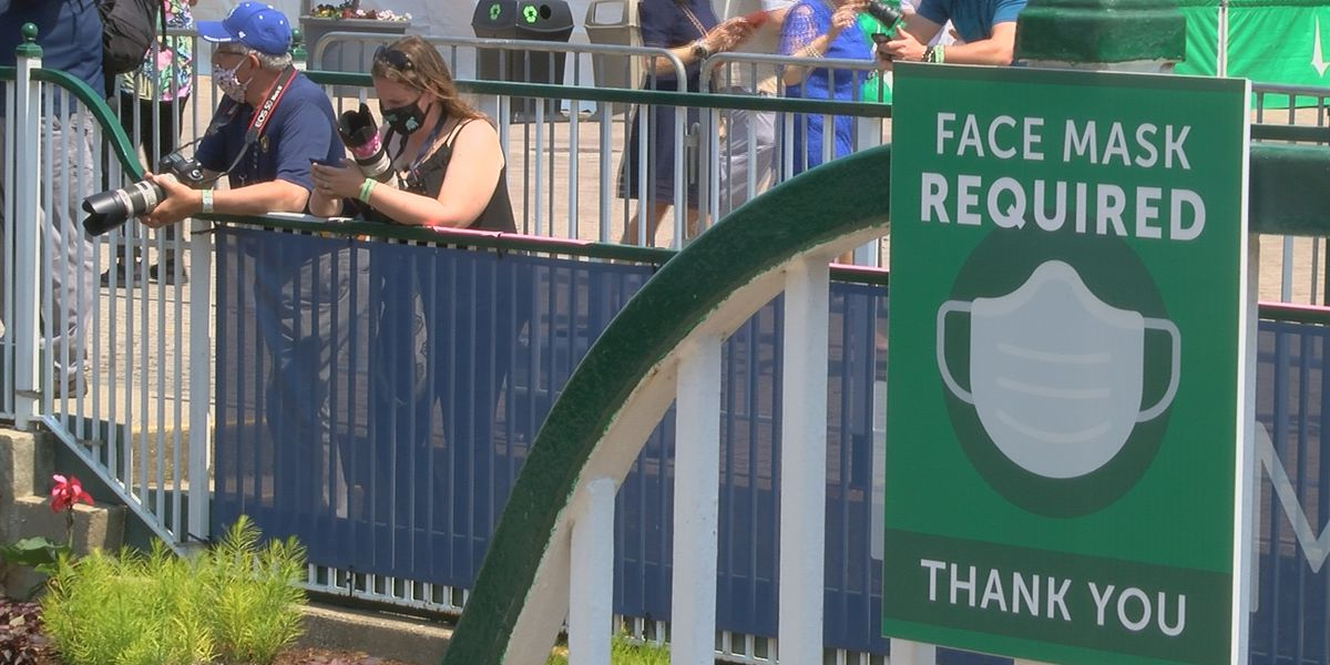 Churchill Downs Derby Week policies not impacted by CDC, state mask changes