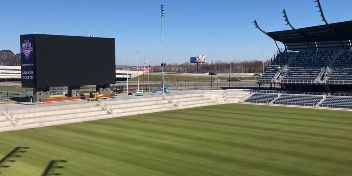 Lou City FC's new home is complete, ready for fans