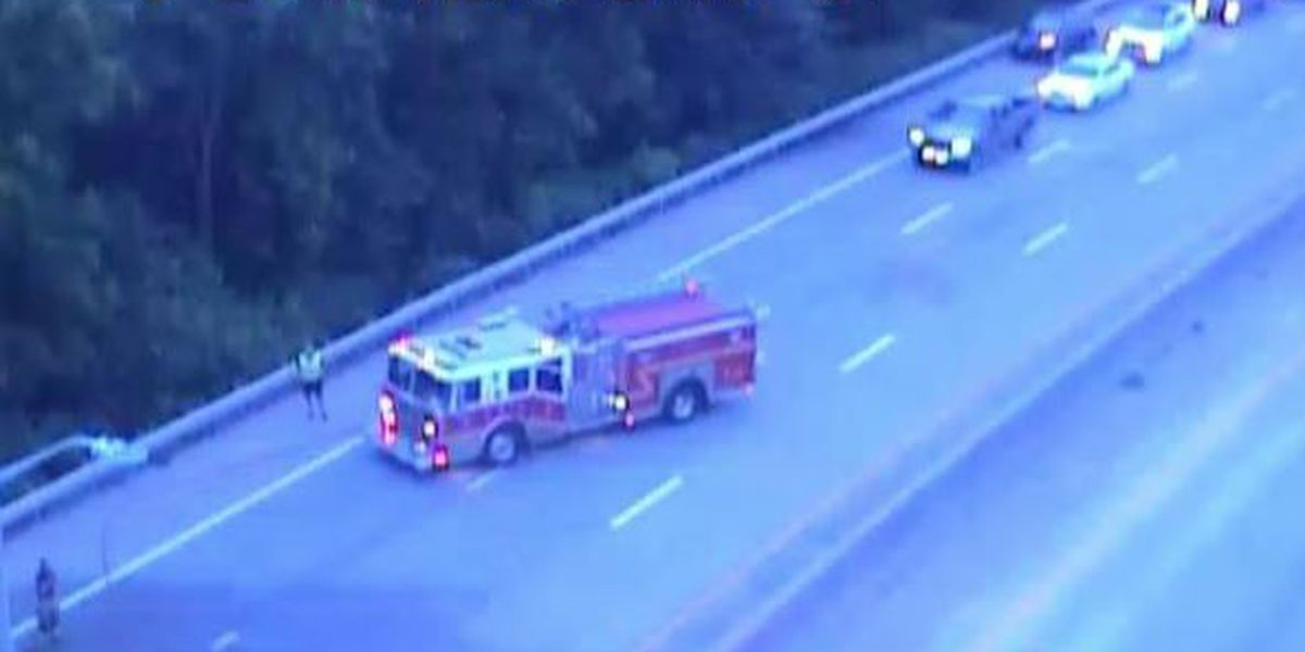 Motorcyclist injured in crash on I-264