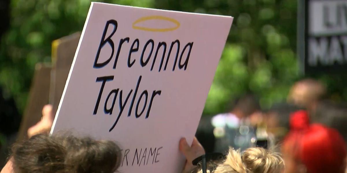 Celebrities take part in March on Frankfort to demand justice for Breonna Taylor