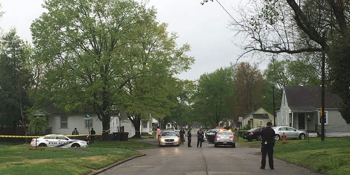 Police: Man shot after breaking into home, undressing