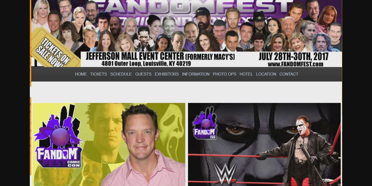 Several changes to Fandomfest have convention-goers upset