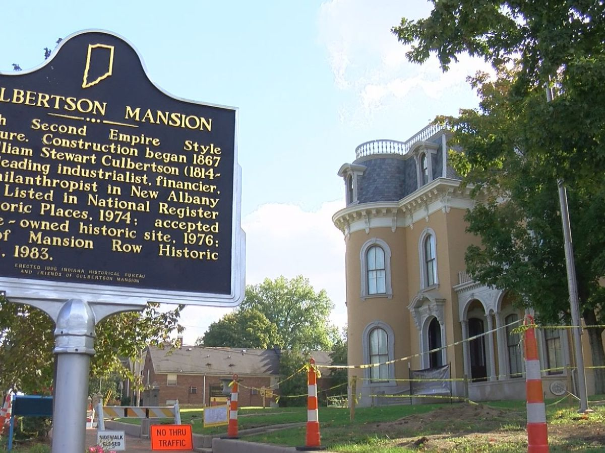 Inside the history and the hauntings at the historic Culbertson Mansion