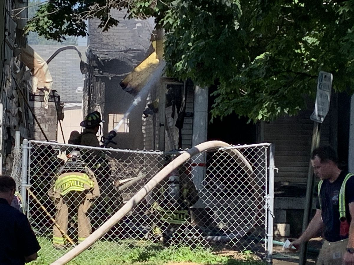 Fire damages The Lord's Kitchen, home next door