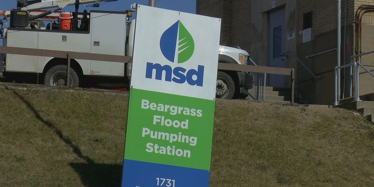 Louisville MSD activates 12 city pump stations to keep out flood waters