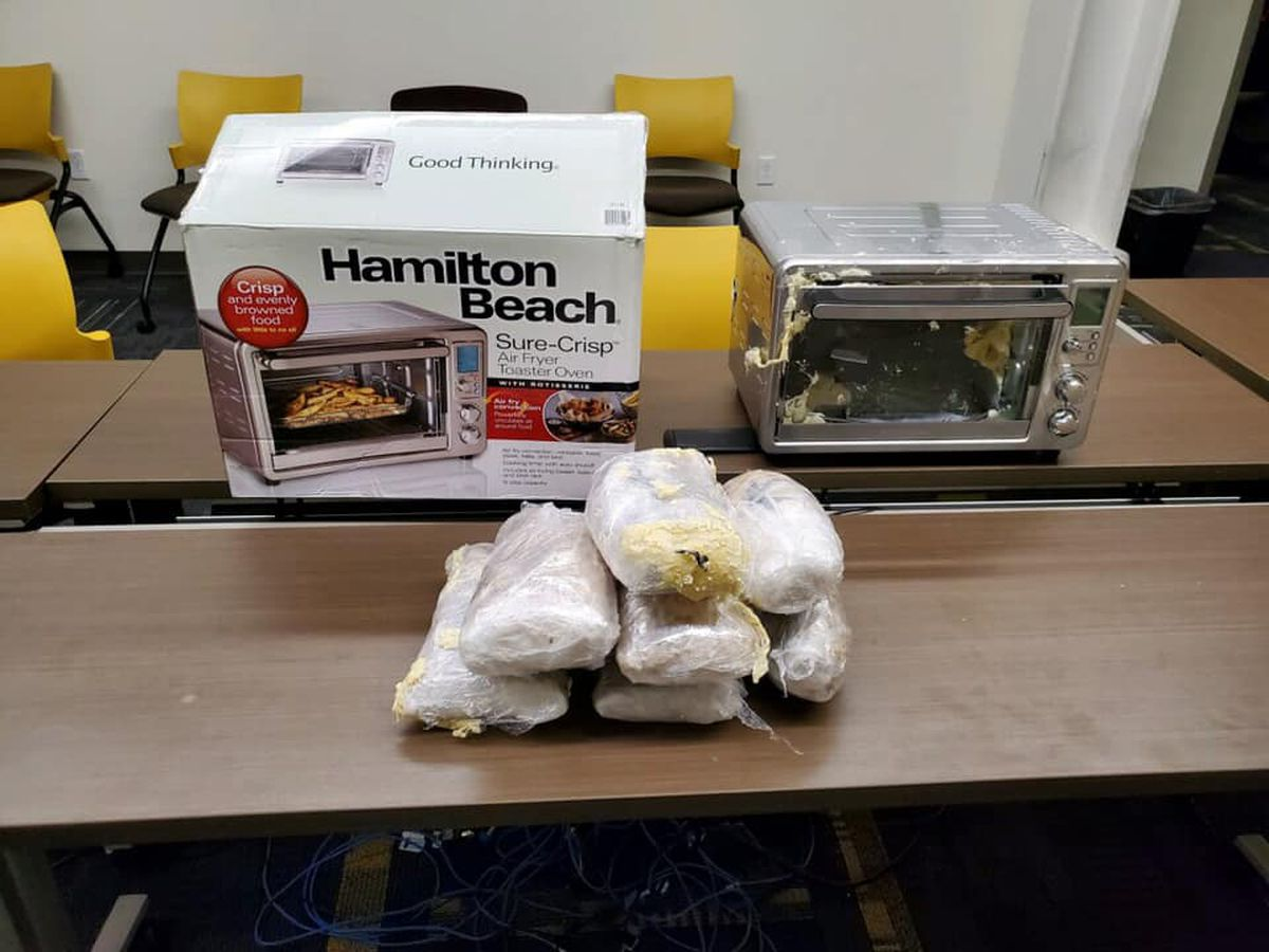 LMPD finds over $100,000 of meth in air fryer shipping to south Louisville