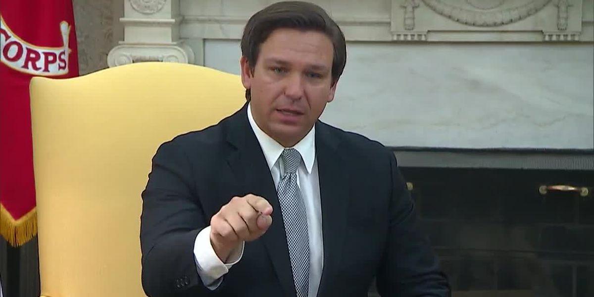 Amid soaring Florida coronavirus cases, governor criticized