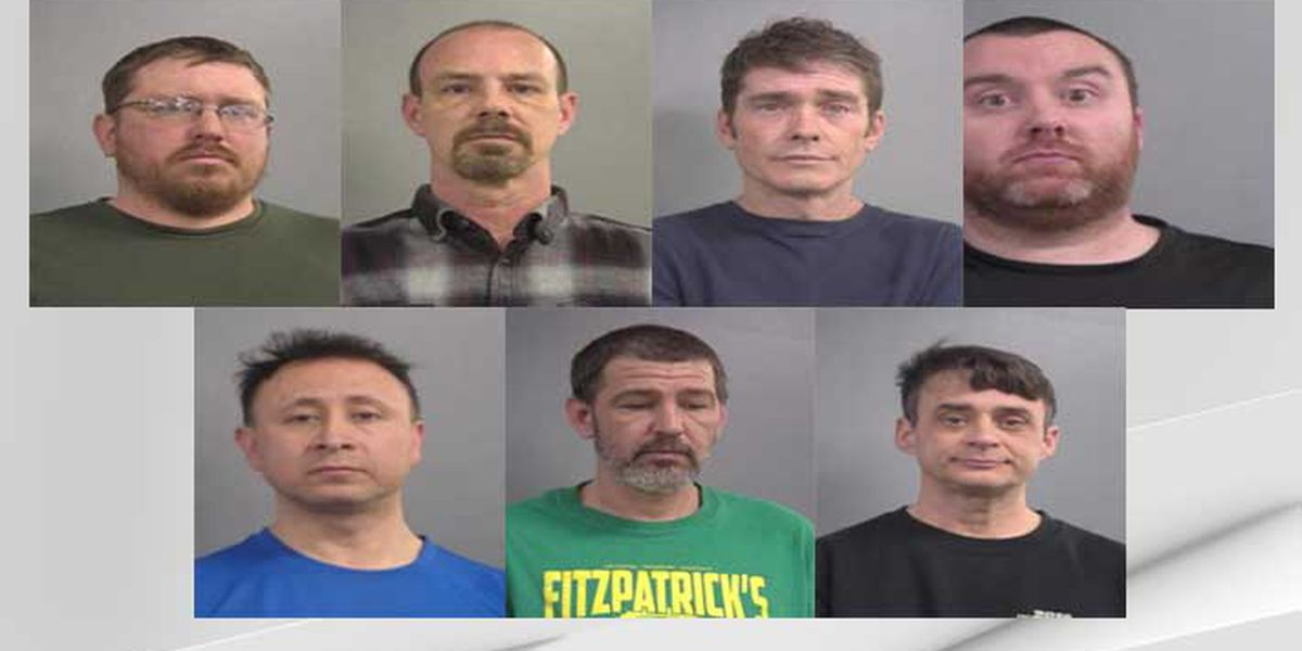 Police discuss arrests of 7 men in Louisville human trafficking sting