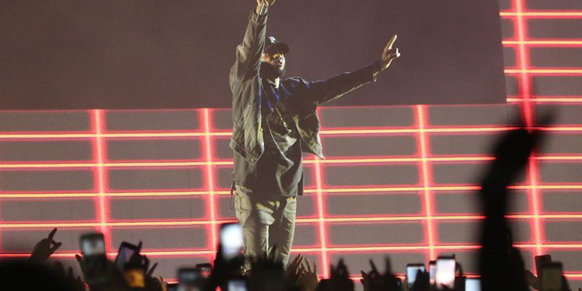 SLIDESHOW: Bryson Tiller homecoming concert at KFC Yum! Center