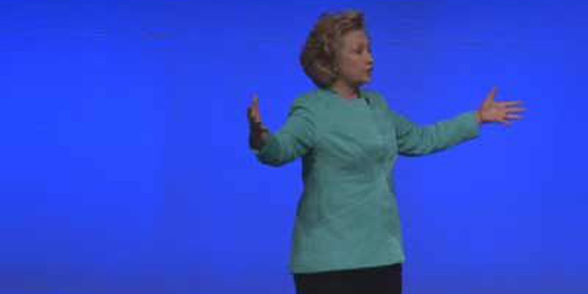 Hillary Clinton campaigns for Grimes in Louisville