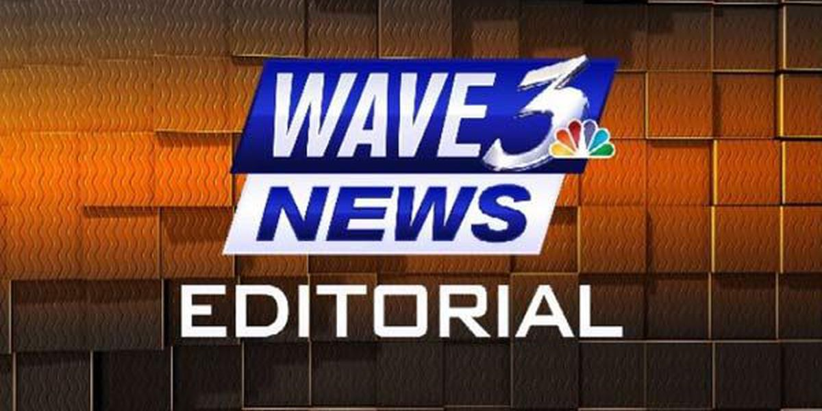 WAVE 3 News Editorial - June 12, 2018: Flag Protocol Feedback