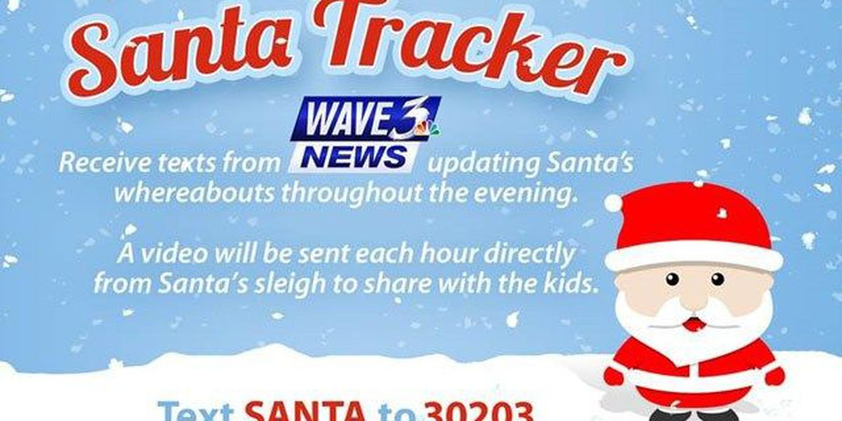 SANTA TRACKER: Open the app right now to find out how to get