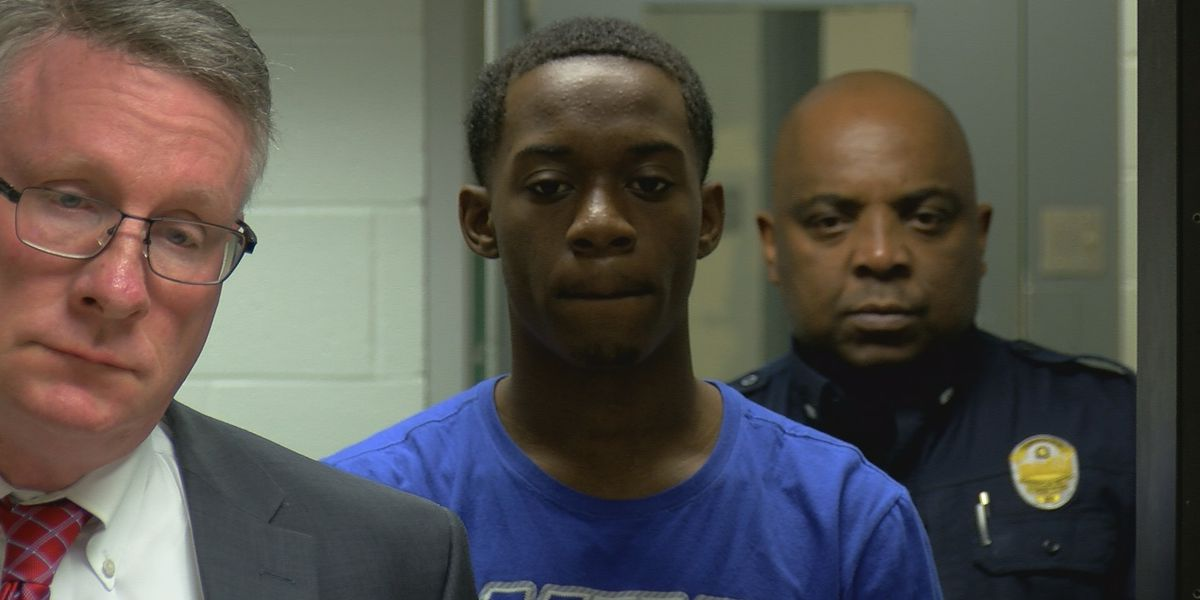 Man accused of being in car that ran over police officer appears in court