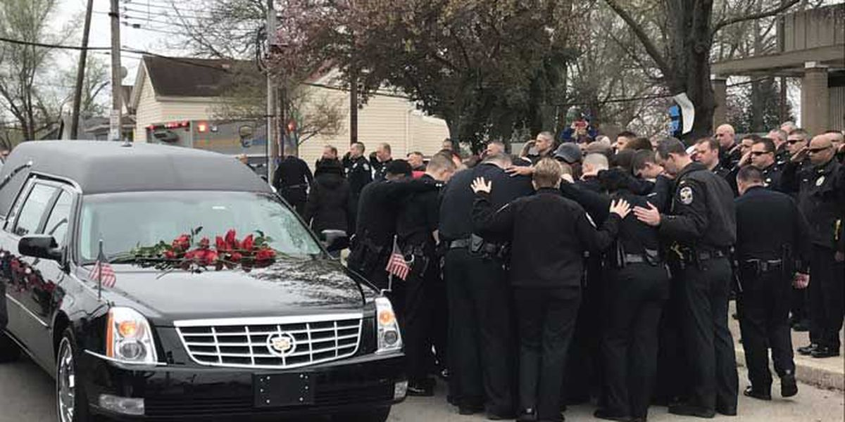 Procession route announced for slain officer's funeral