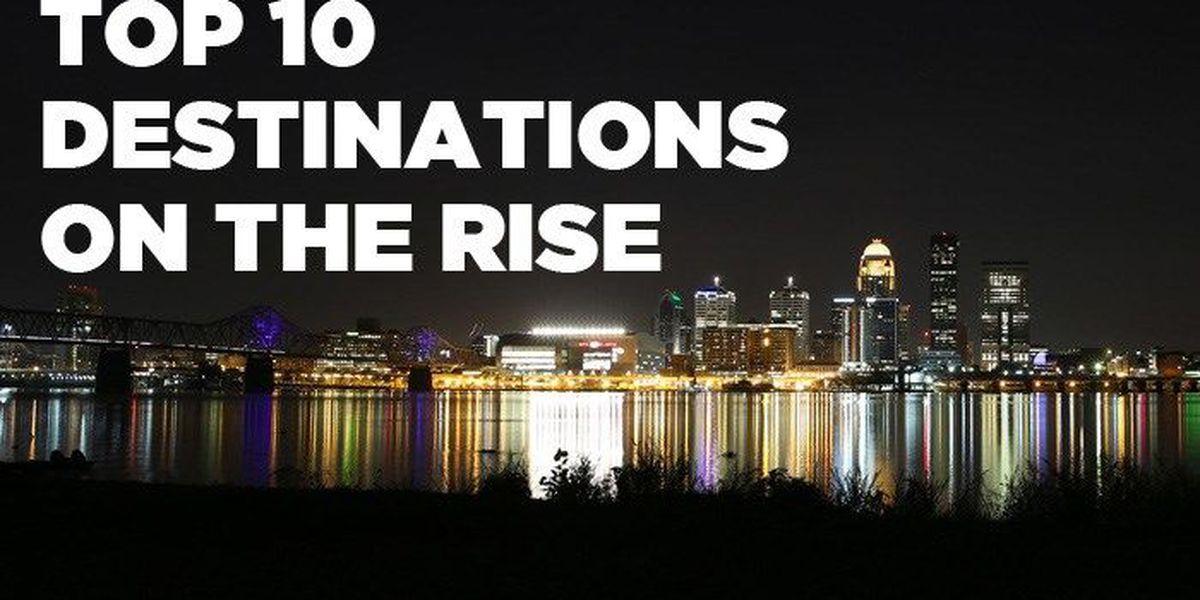 LIST: Louisville earns Top-10 status for travelers
