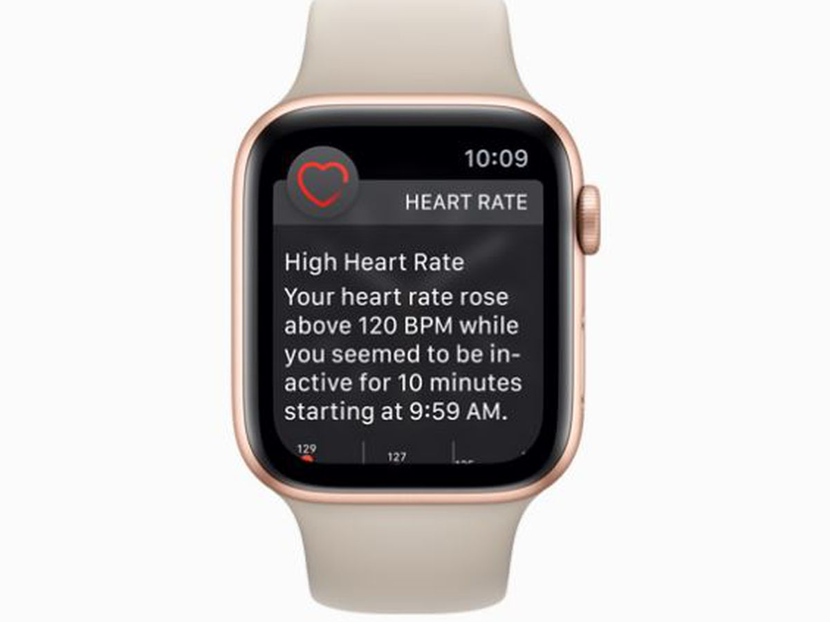 Apple Watch launches heart monitor function