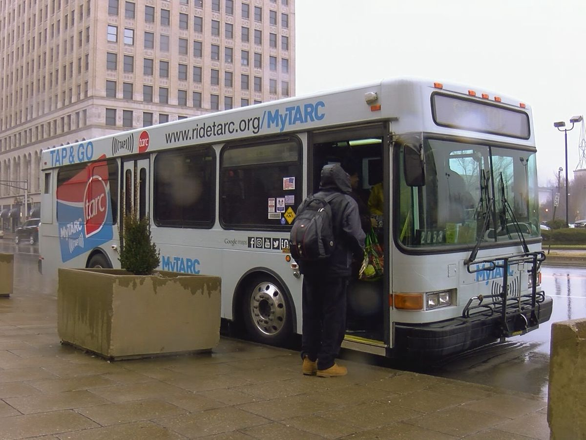 TARC confirms driver tests positive for COVID-19