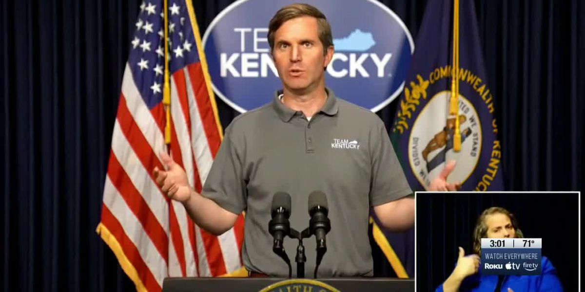 Date set for Kentucky to reopen to 100% capacity, mask mandate to be lifted