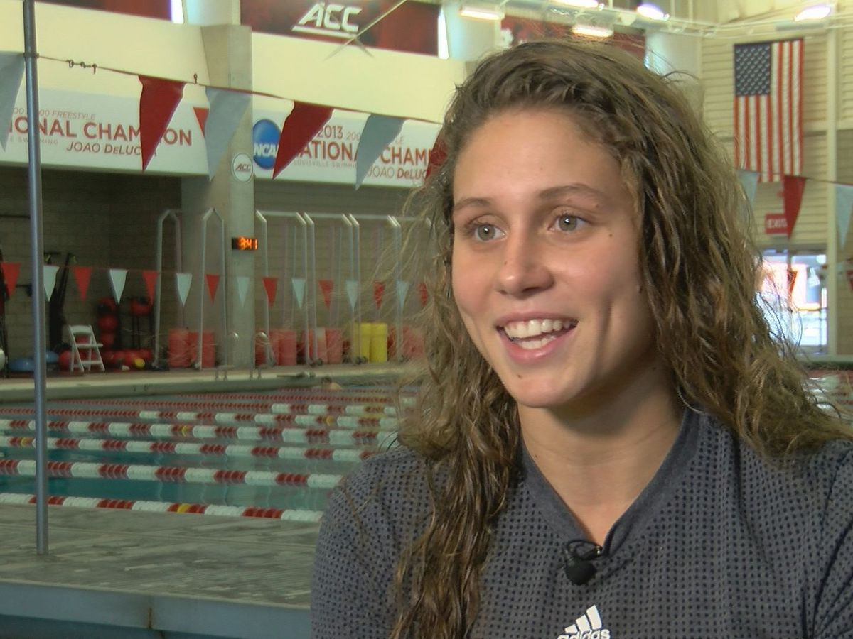 UofL star Mallory Comerford wins third straight NCAA Championship in 200 freestyle