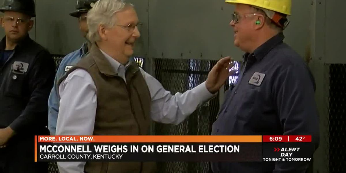 McConnell predicts Beshear will become Governor