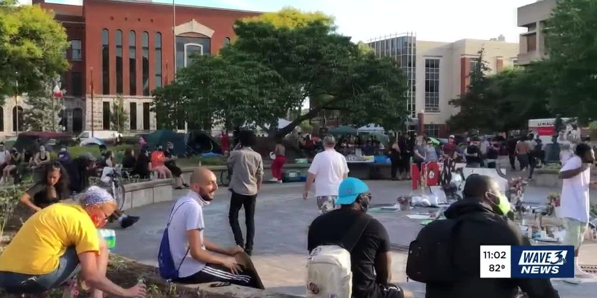 Misinformation about Louisville protests causing concern