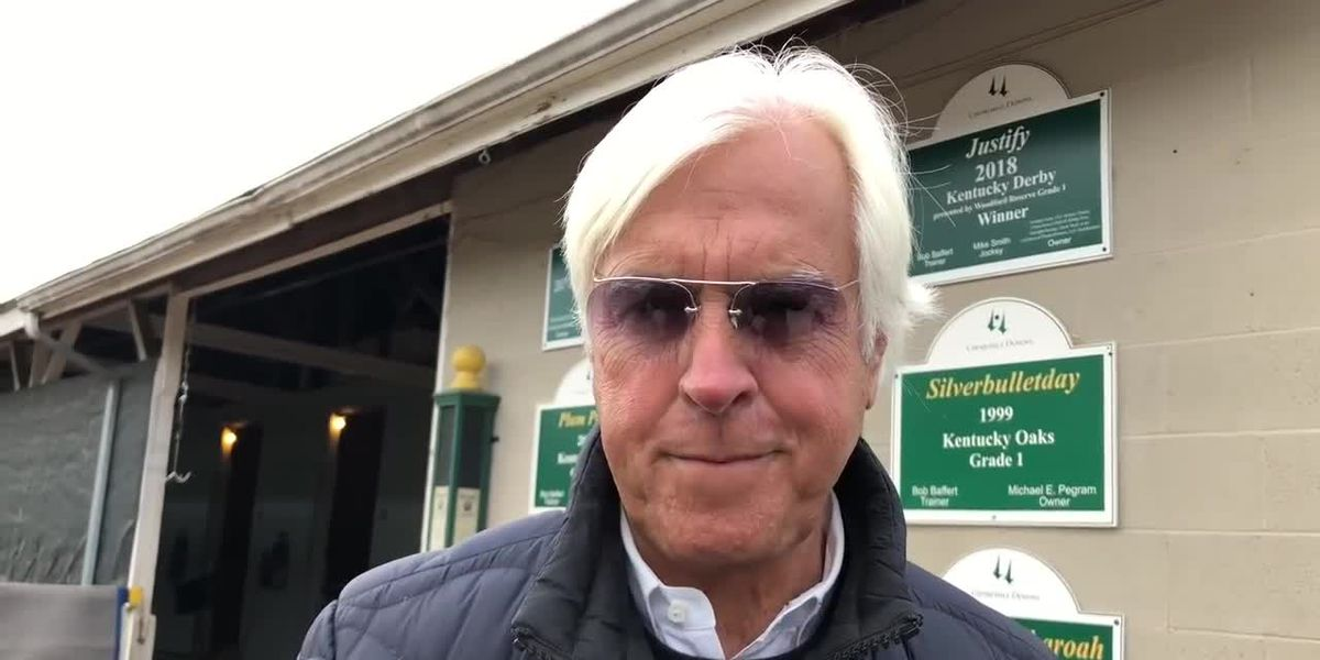 Baffert's runners both run second in split divisions of the Rebel Stakes