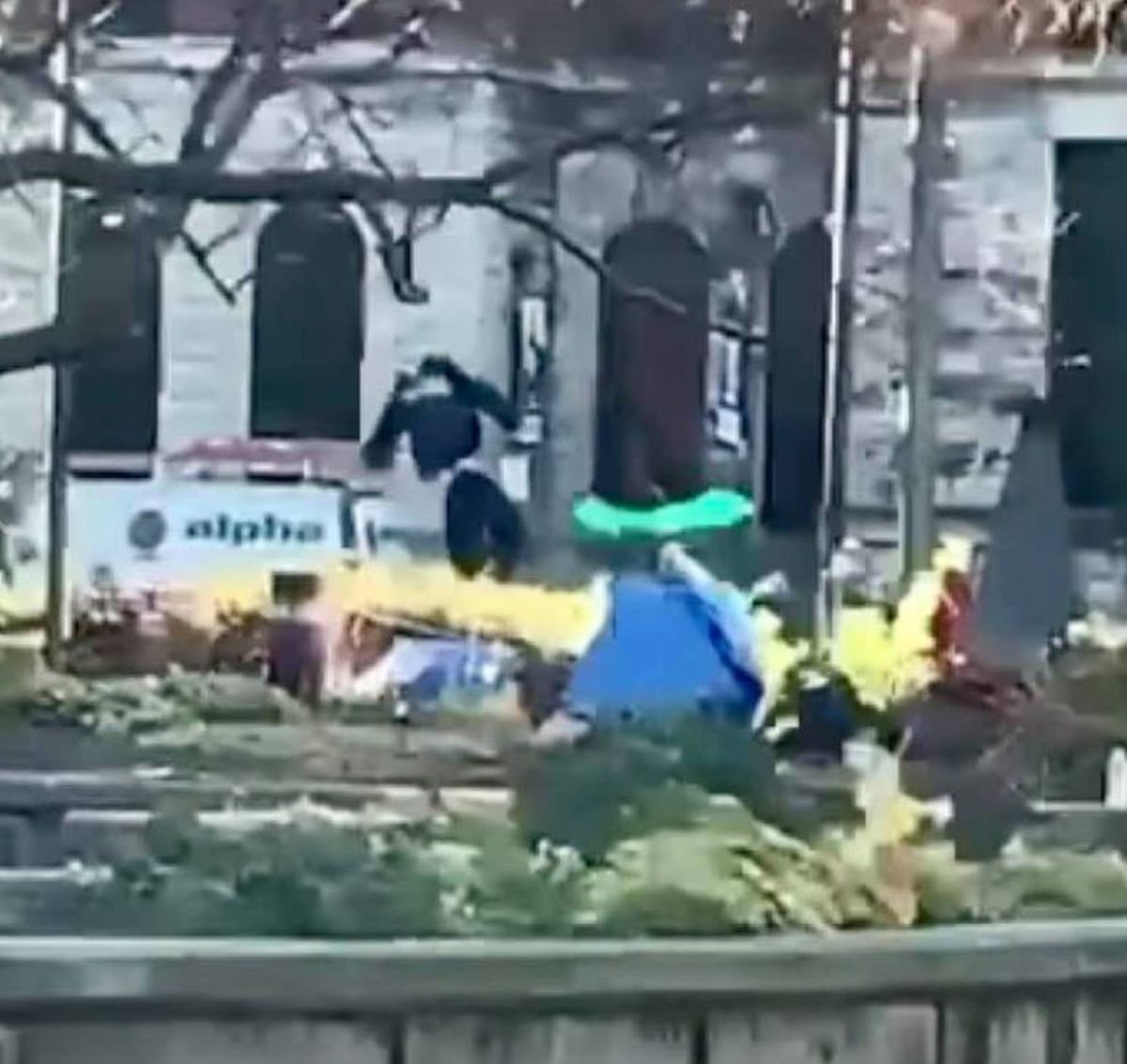 Hanged officer effigy taken down from Jefferson Square