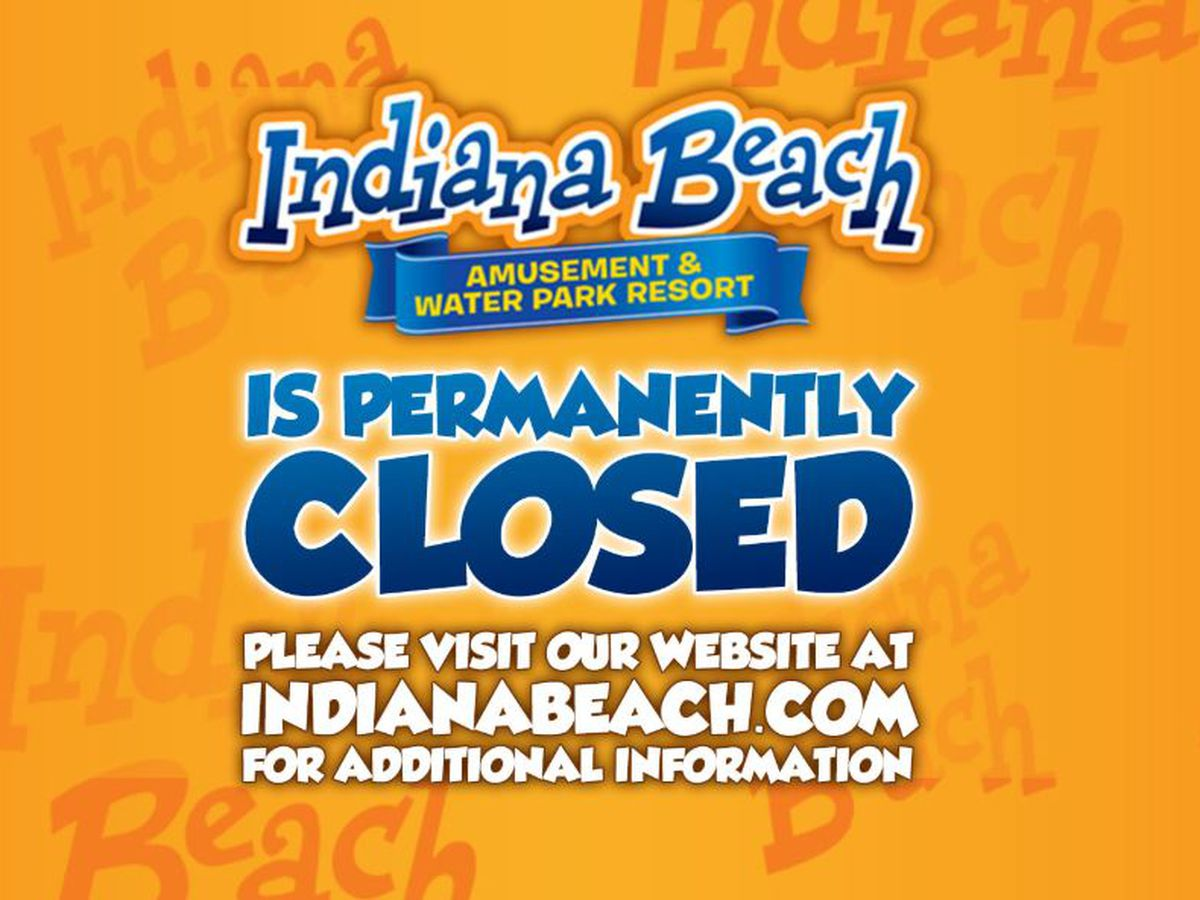 Indiana Beach announces it is closing