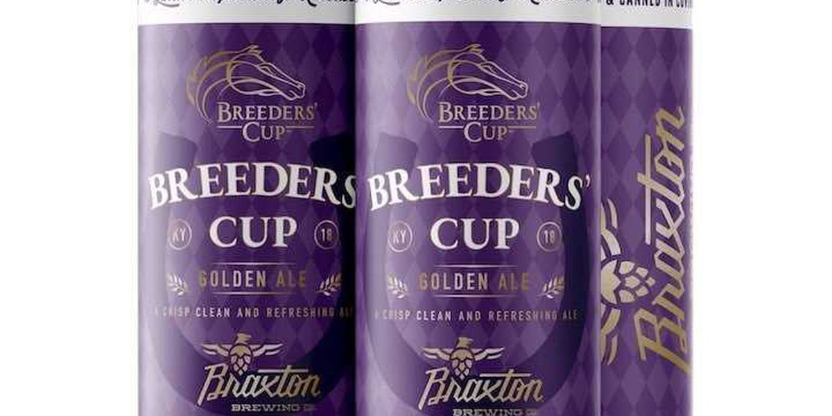 Breeders' Cup announces Braxton Brewing Company as official beer partner for 2018 World Championships
