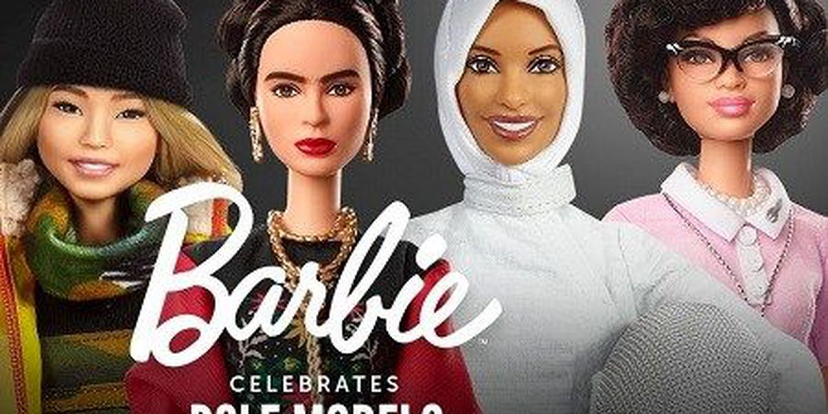 New line of Barbies features history-making women