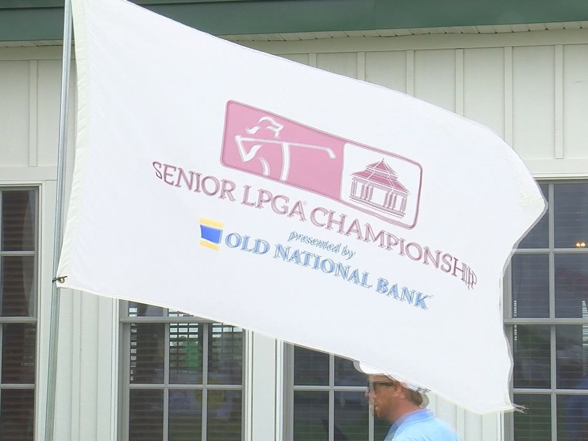 Davies leads after day one of Senior LPGA Championship