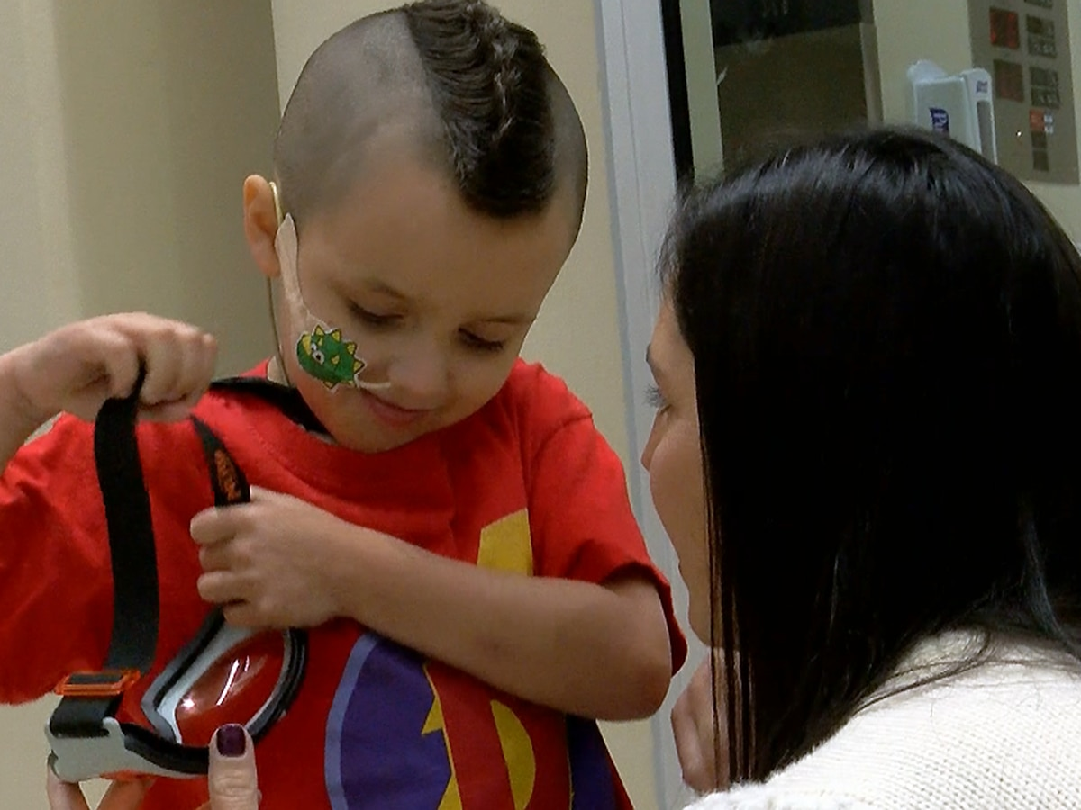 Louisville boy raises more than $30,000 for hospital after beating cancer