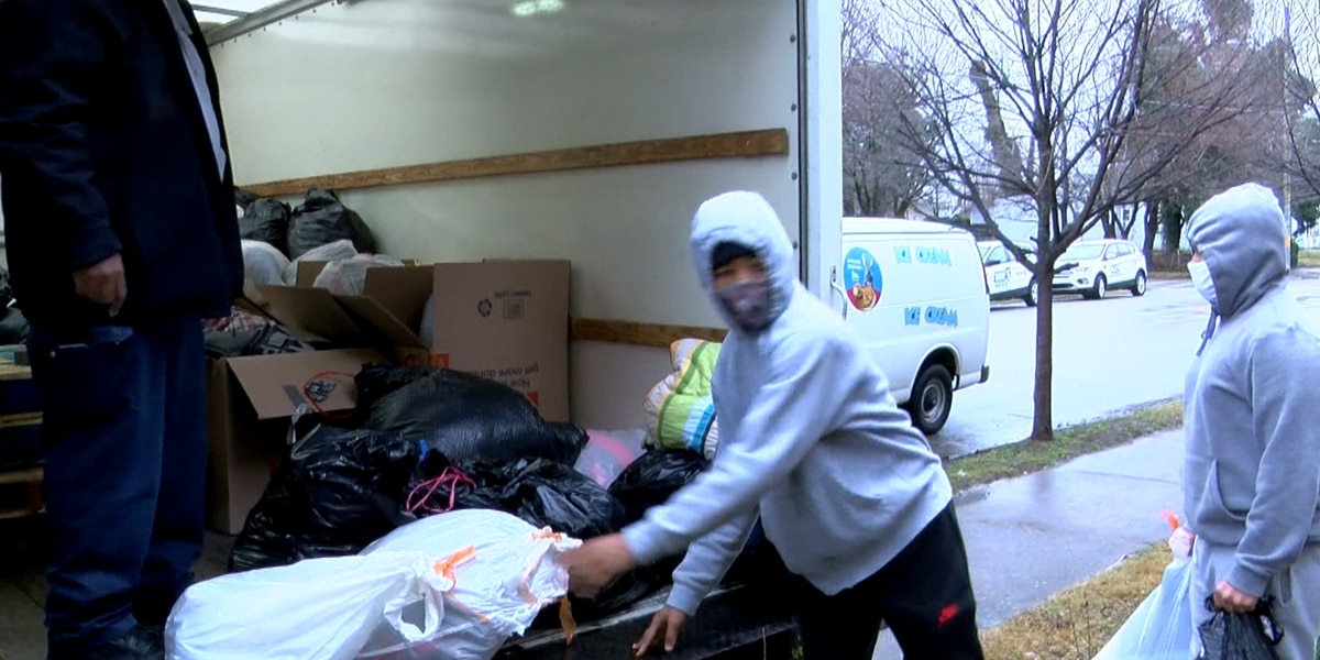 Organizers work to prepare the homeless for winter chill
