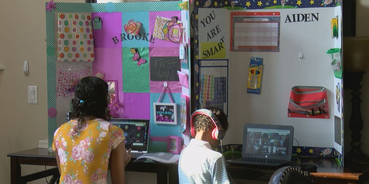 JCPS students, parents, teachers begin school year with virtual first day