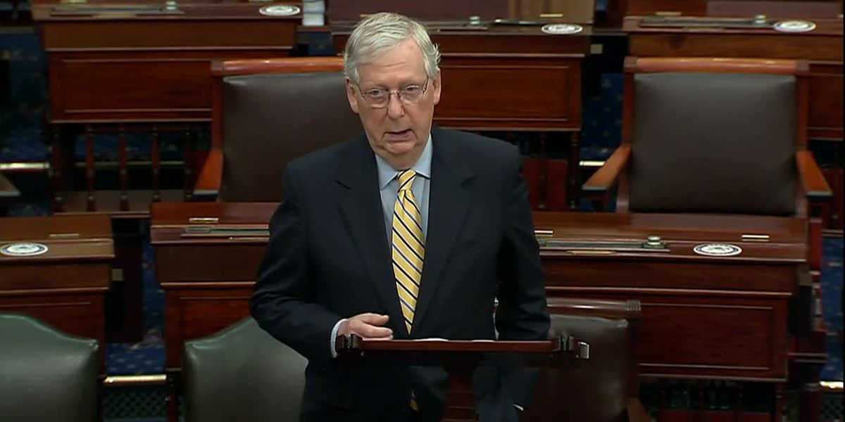 McConnell, Pelosi dispute Trump, vow peaceful power transfer