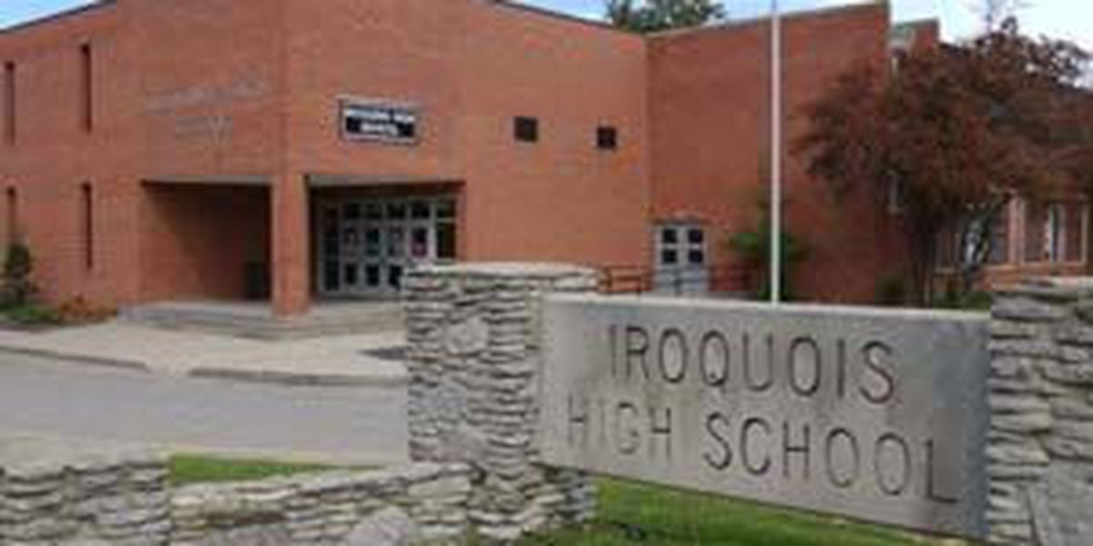 Fireworks prompt report of shots fired at Iroquois High School