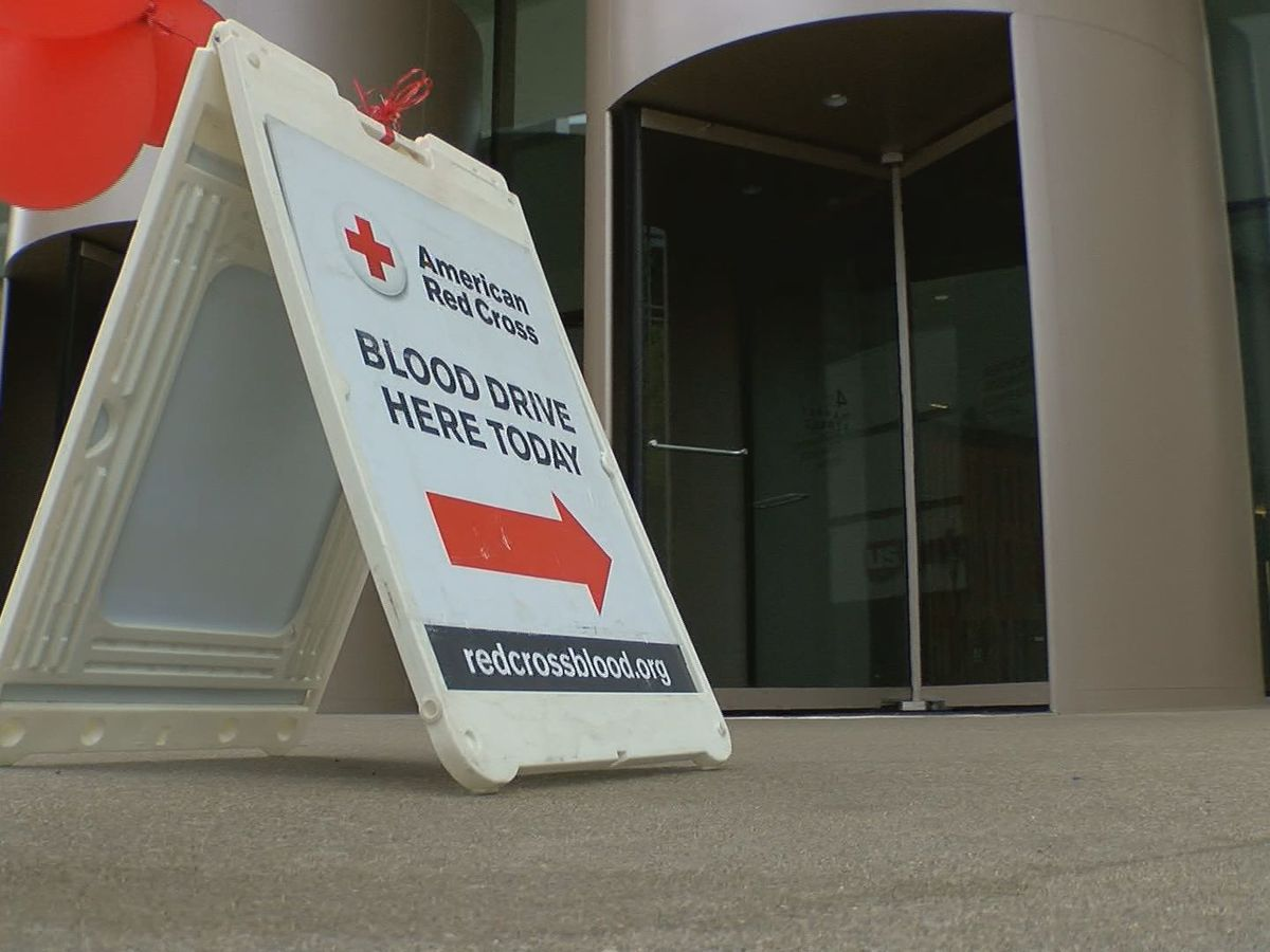 Red Cross faces critical shortage of blood