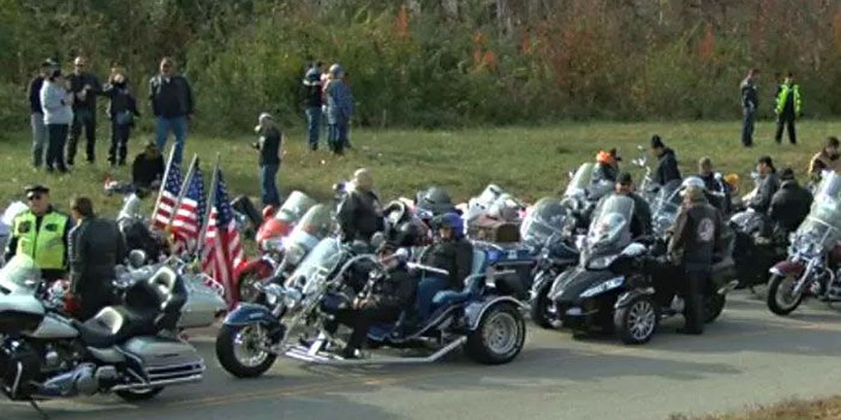 2,000 motorcyclists expected for Sunday's Toys for Tots Motorcycle Run