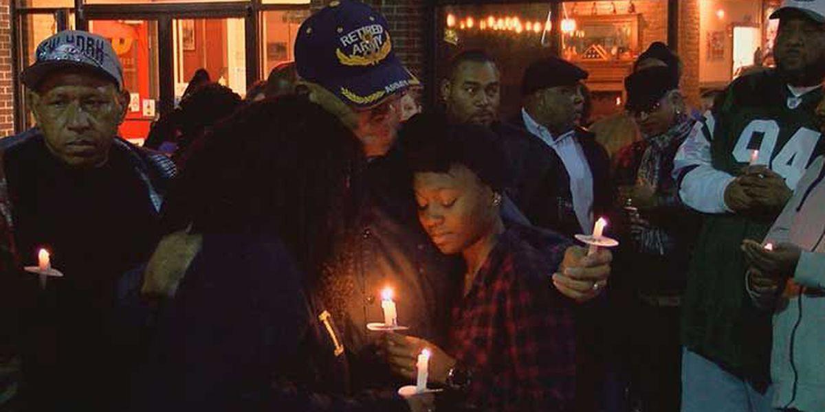 Candlelight vigil honors Radcliff shooting victim