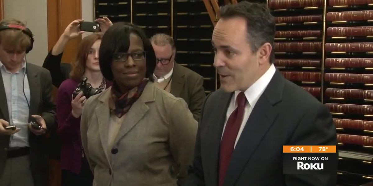 Judge calls on Bevin, Hampton to settle hiring spat on their own