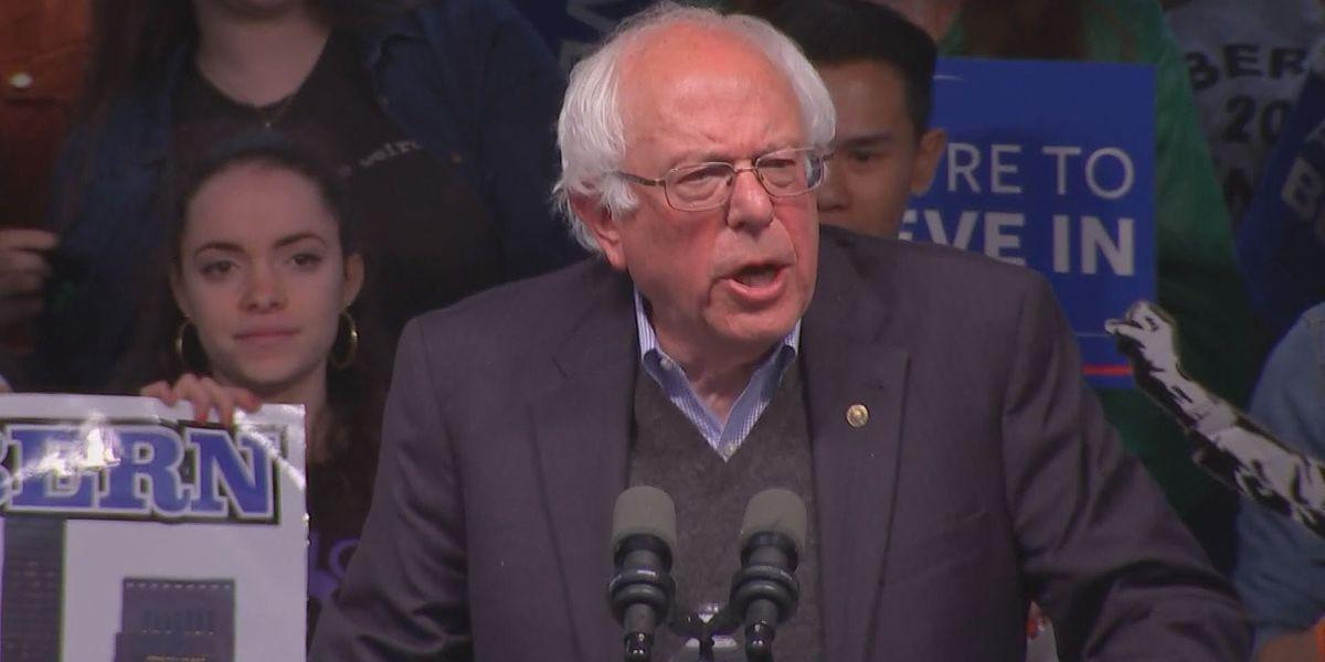 WATCH LIVE: Bernie Sanders speaks at the Louisville Palace